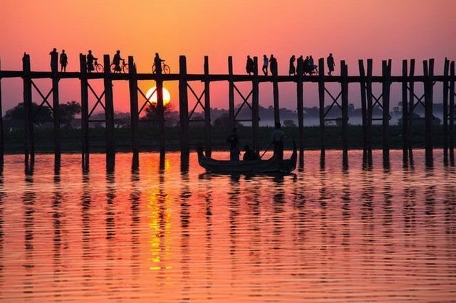 Souvent Sonate Birmane : Circuits en groupe Birmanie Mandalay, Irrawaddy  NQ54