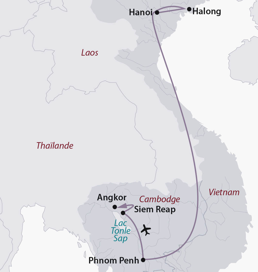 Circuit Individuel Cambodge Vietnam Sites Mythiques Du