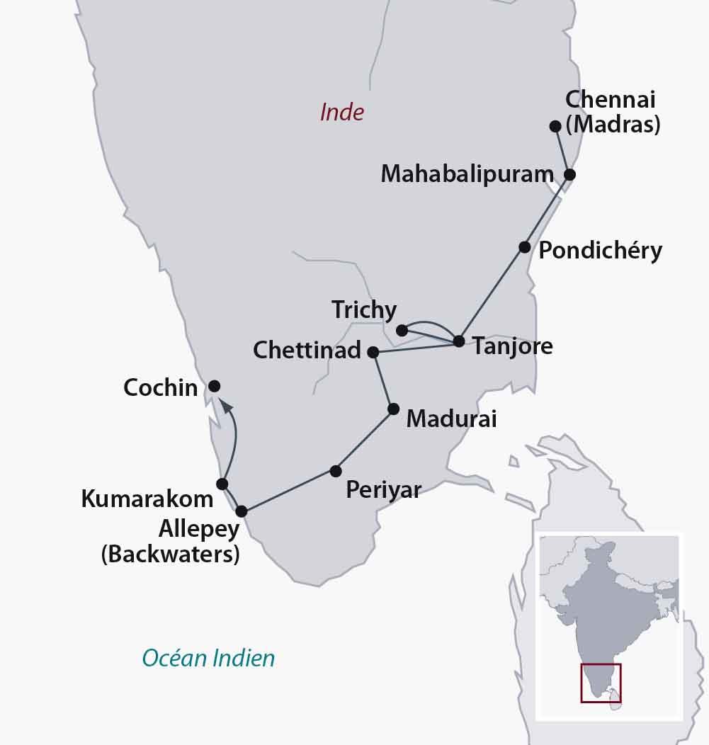 Circuit Individuel Inde Une Inde Du Sud Buissonni 232 Re